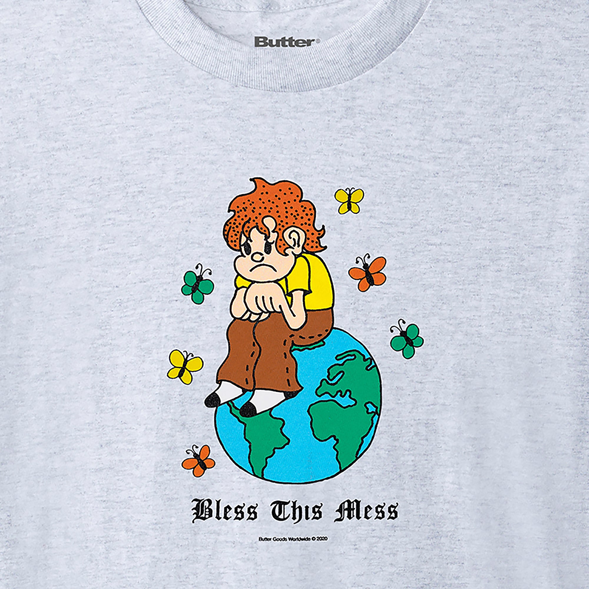 Butter Goods Bless This Mess Tee Product Photo #2