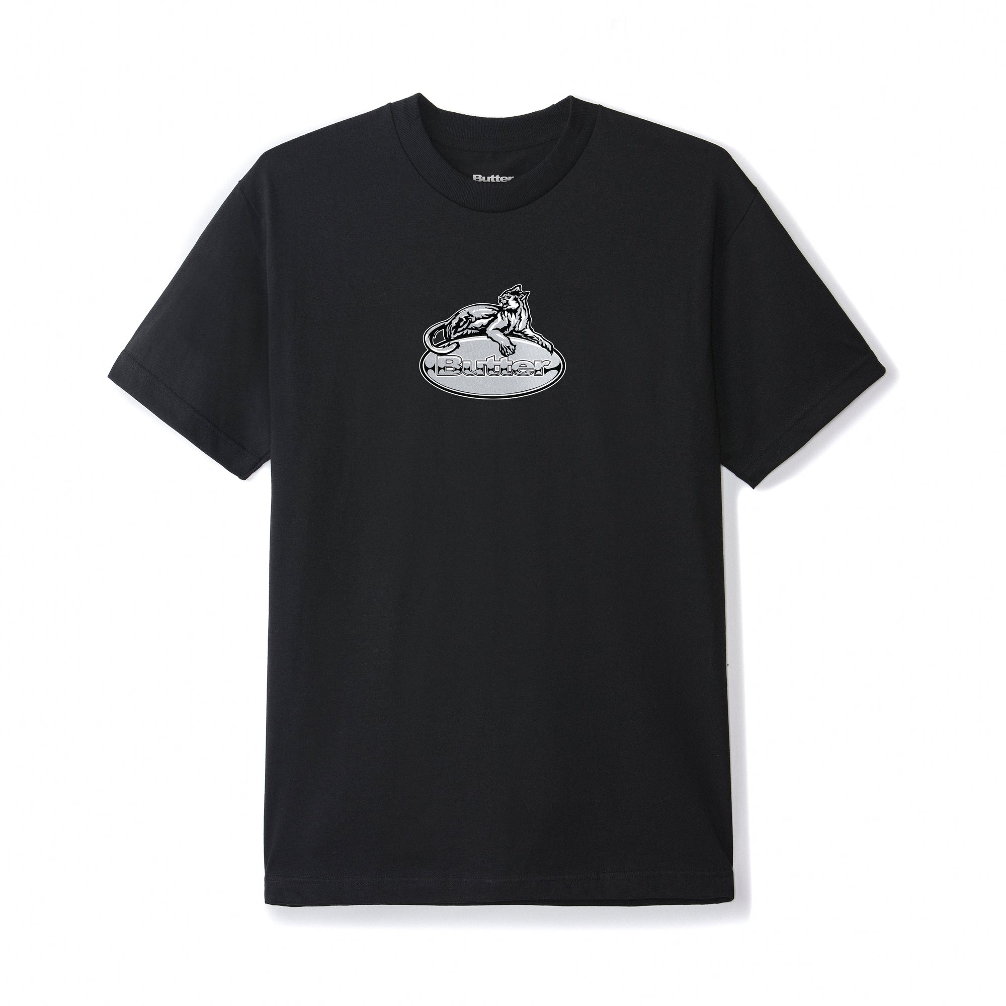 Butter Goods Cougar Badge Logo Tee Product Photo #1