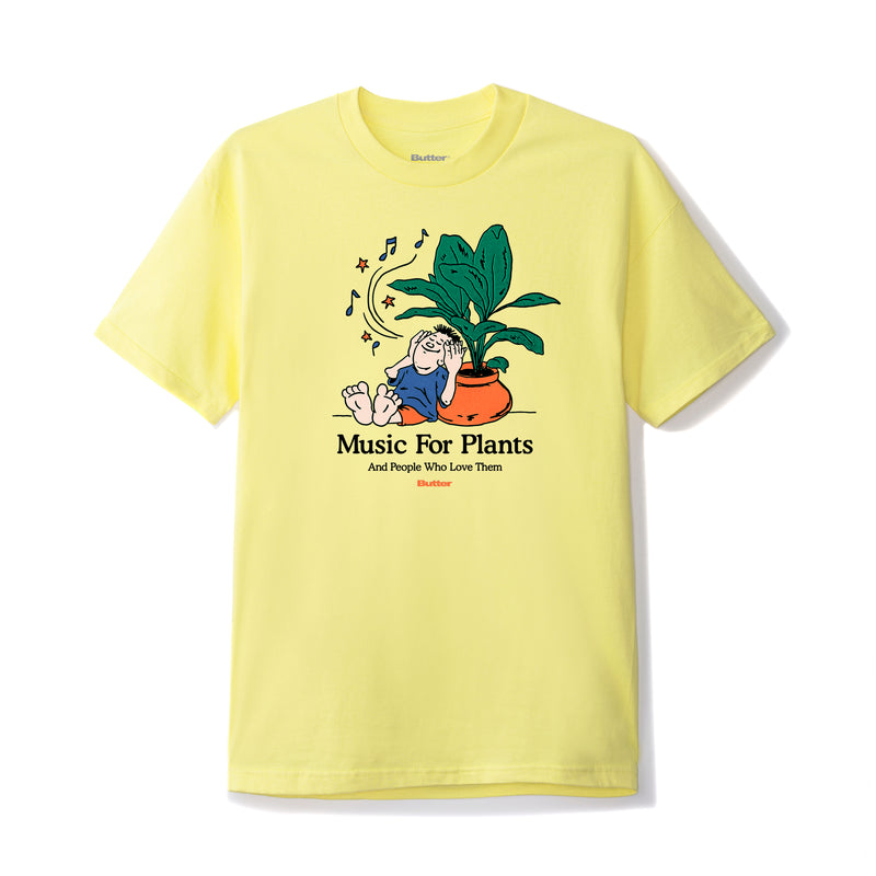 Butter Goods Music For Plants Tee Product Photo