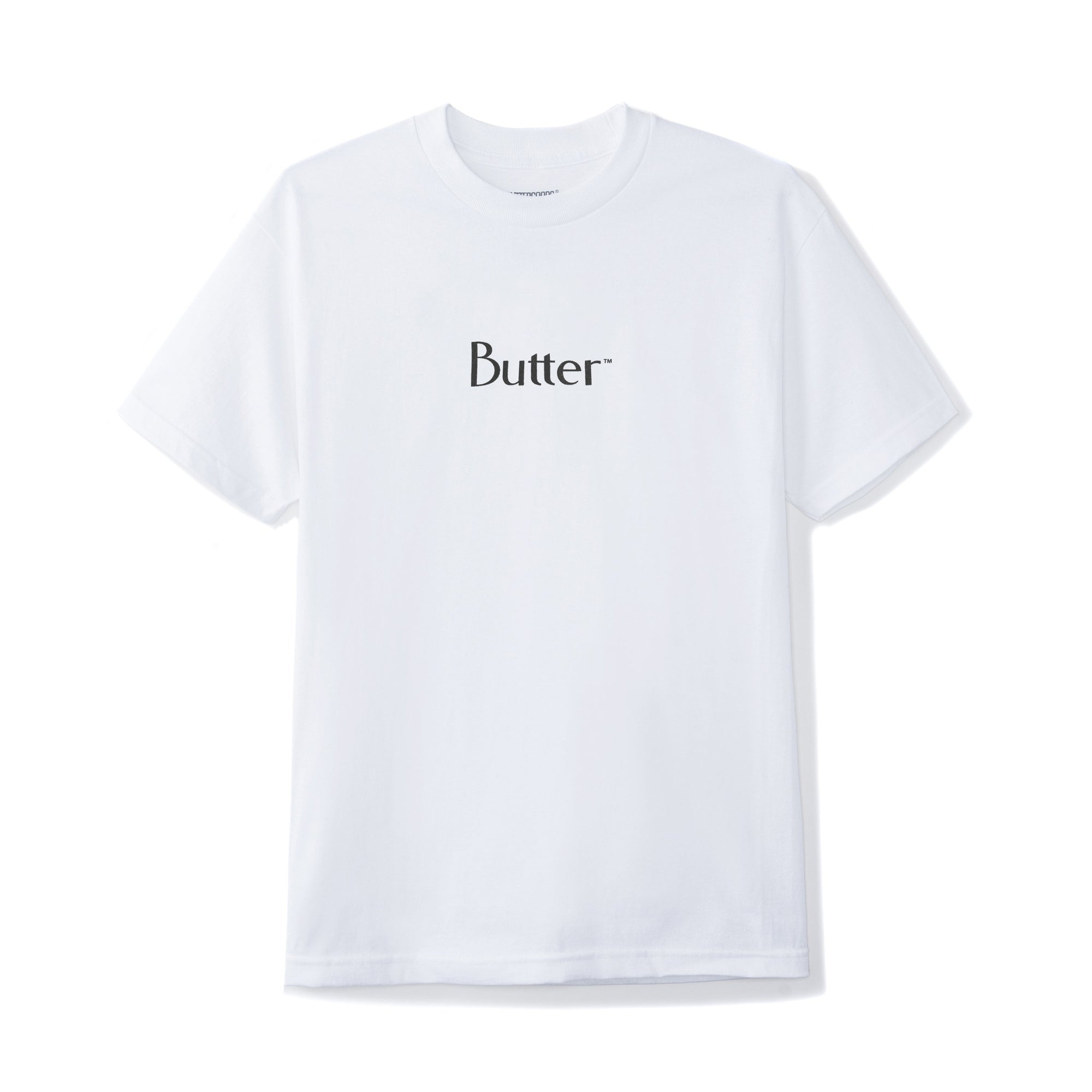 Butter Goods Reflective Classic Logo Tee Product Photo #1