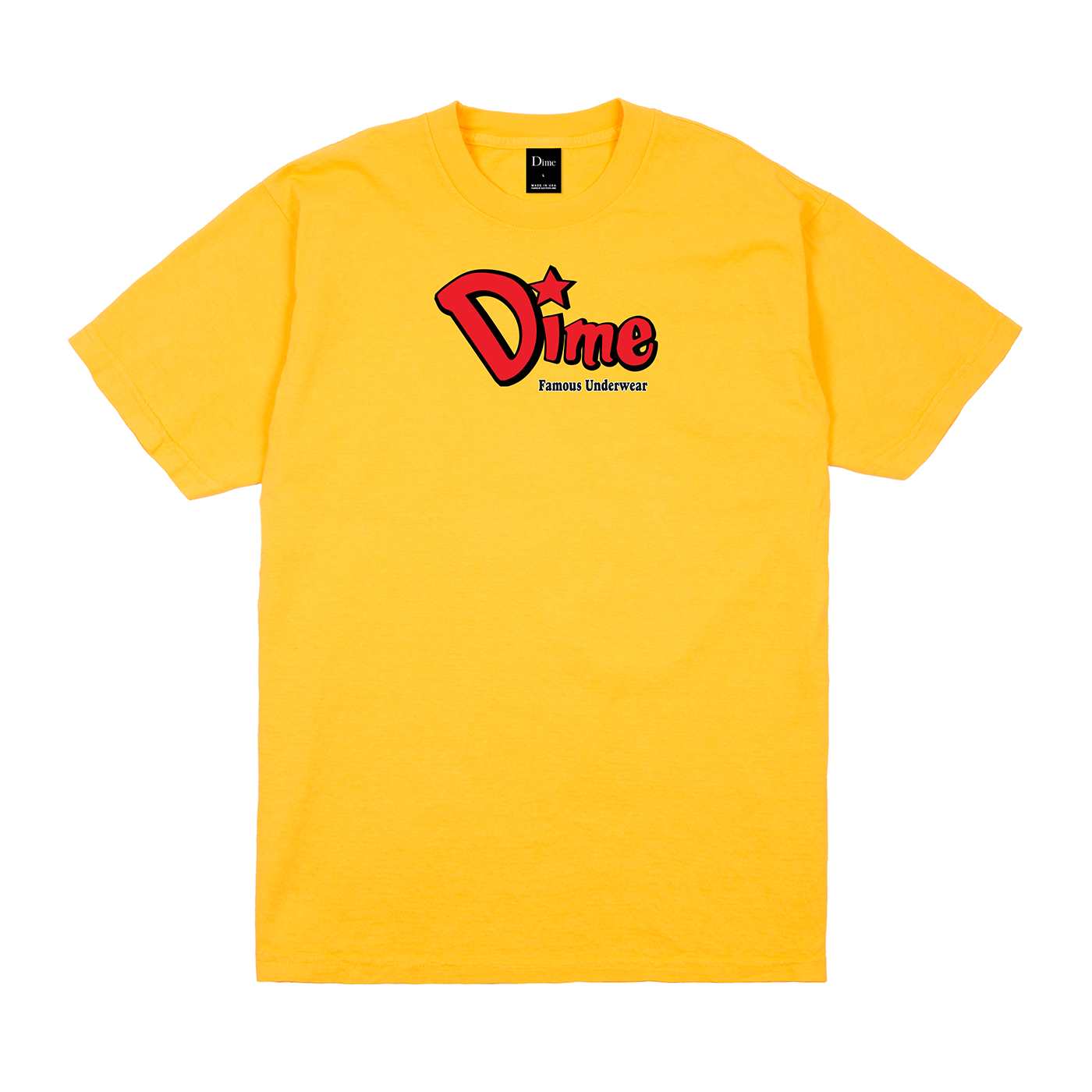 Dime Famous Underwear Tee Product Photo #1