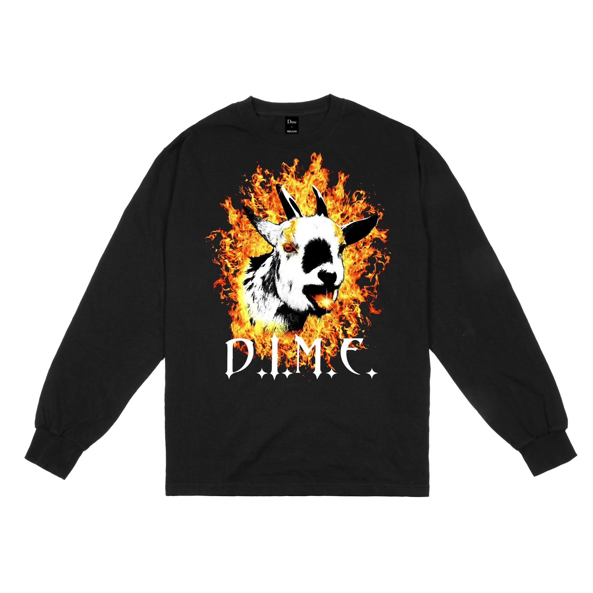 Dime Fire Goat L/S Tee Product Photo #1
