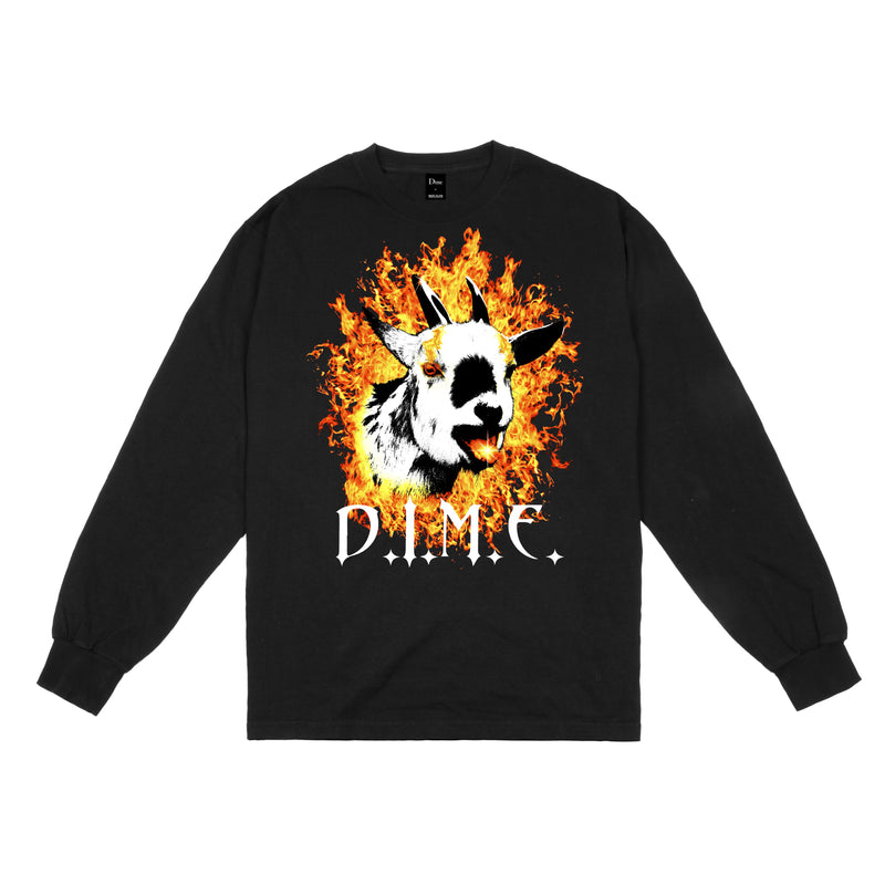 Dime Fire Goat L/S Tee Product Photo