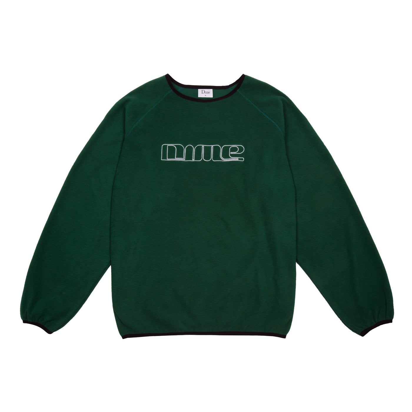 Dime Polar Fleece Raglan Crewneck