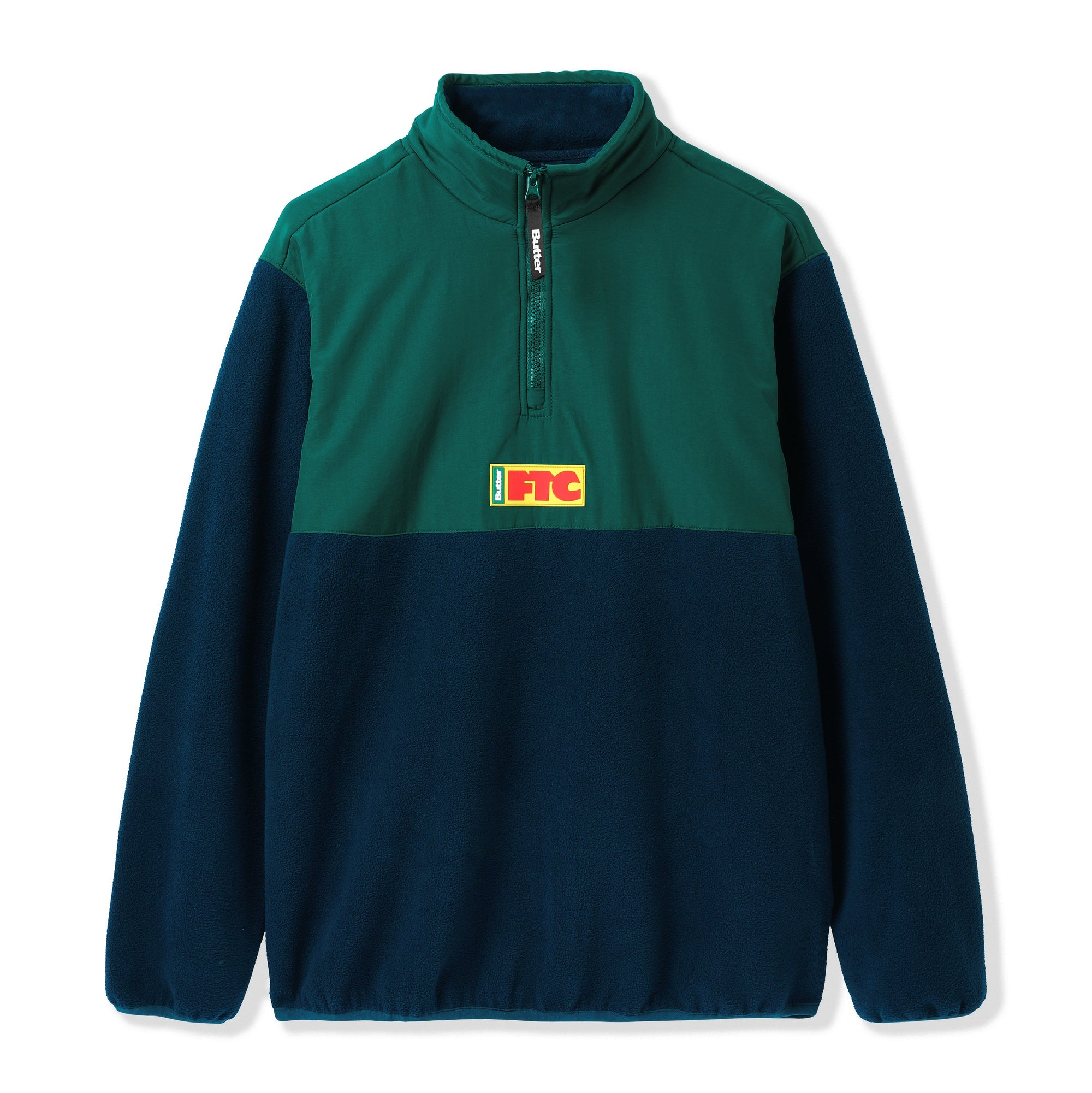Butter Goods X FTC Flag 1/4 Zip Pullover Product Photo #1