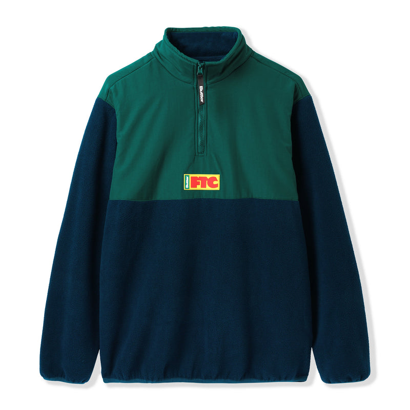 Butter Goods X FTC Flag 1/4 Zip Pullover Product Photo