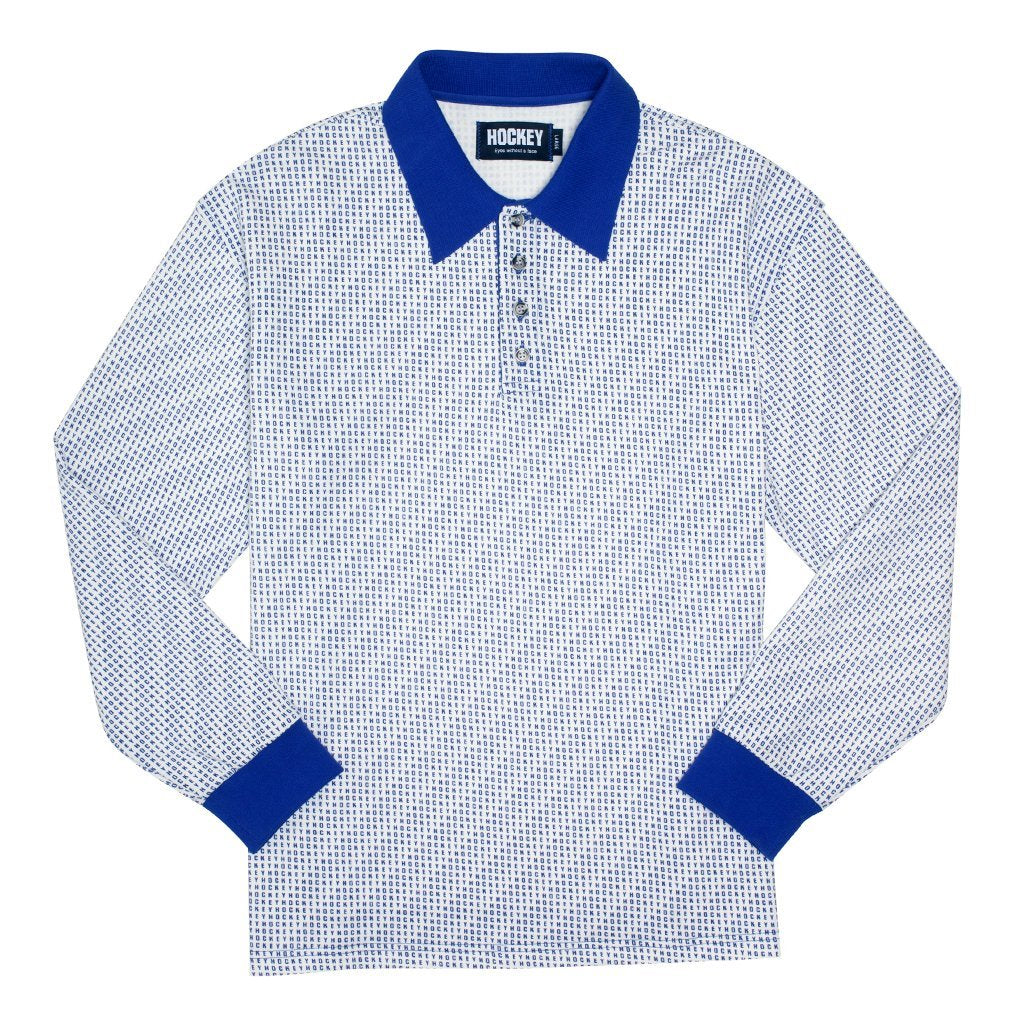 Hockey All Over L/S Polo Product Photo #1