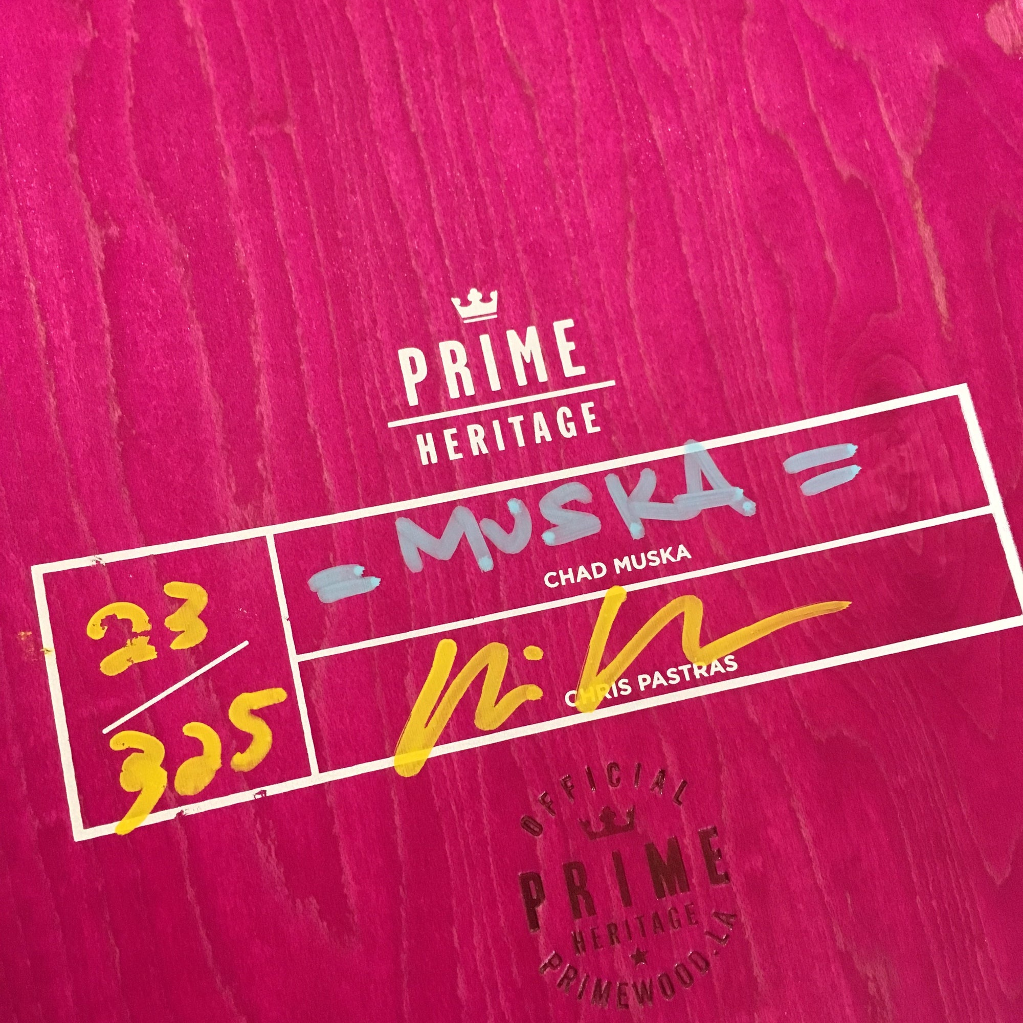 Prime Deck Muska King Product Photo #2