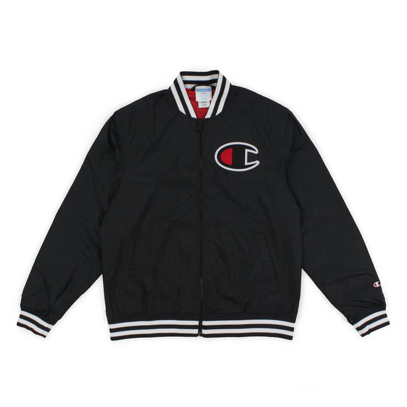 Champion Satin Baseball Jacket Product Photo