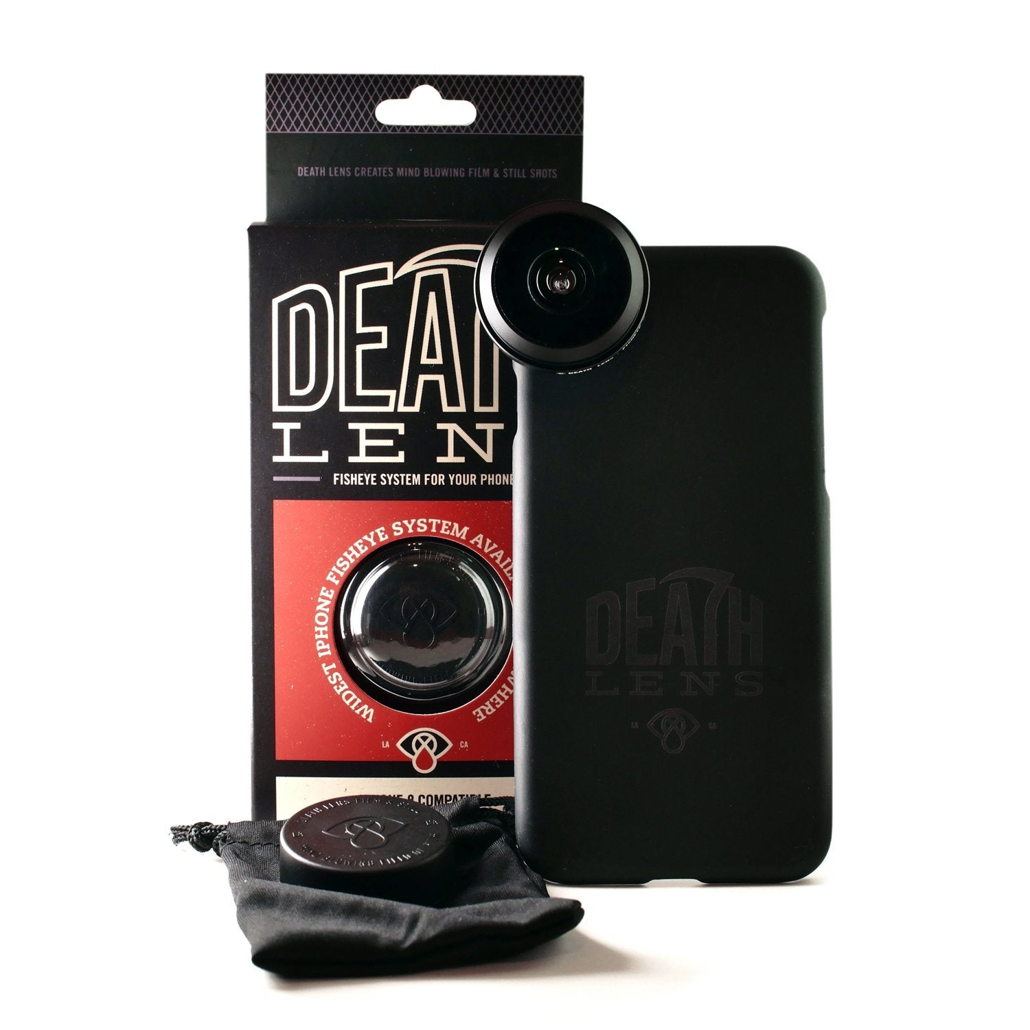 Death Lens Fisheye Iphone 8 Product Photo #4