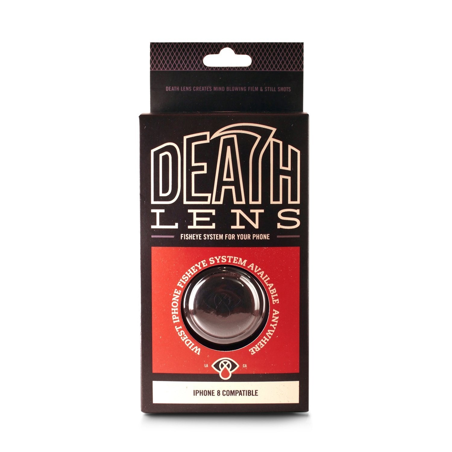 Death Lens Fisheye Iphone 8 Product Photo #1