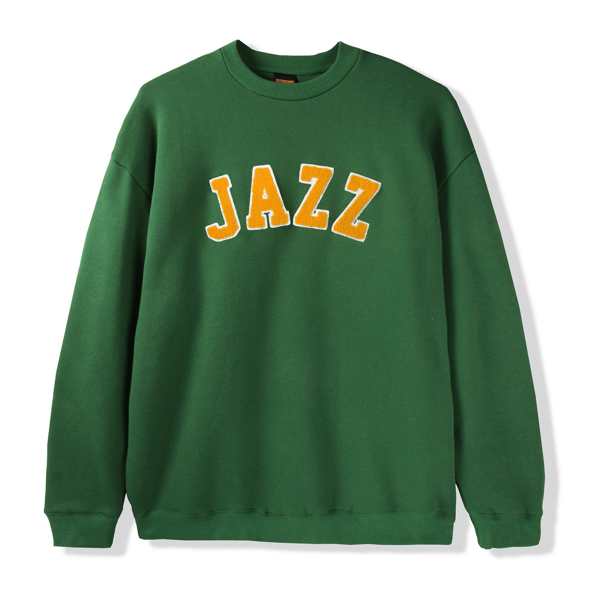 BUTTER GOODS JAZZ APPLIQUE CREWNECK