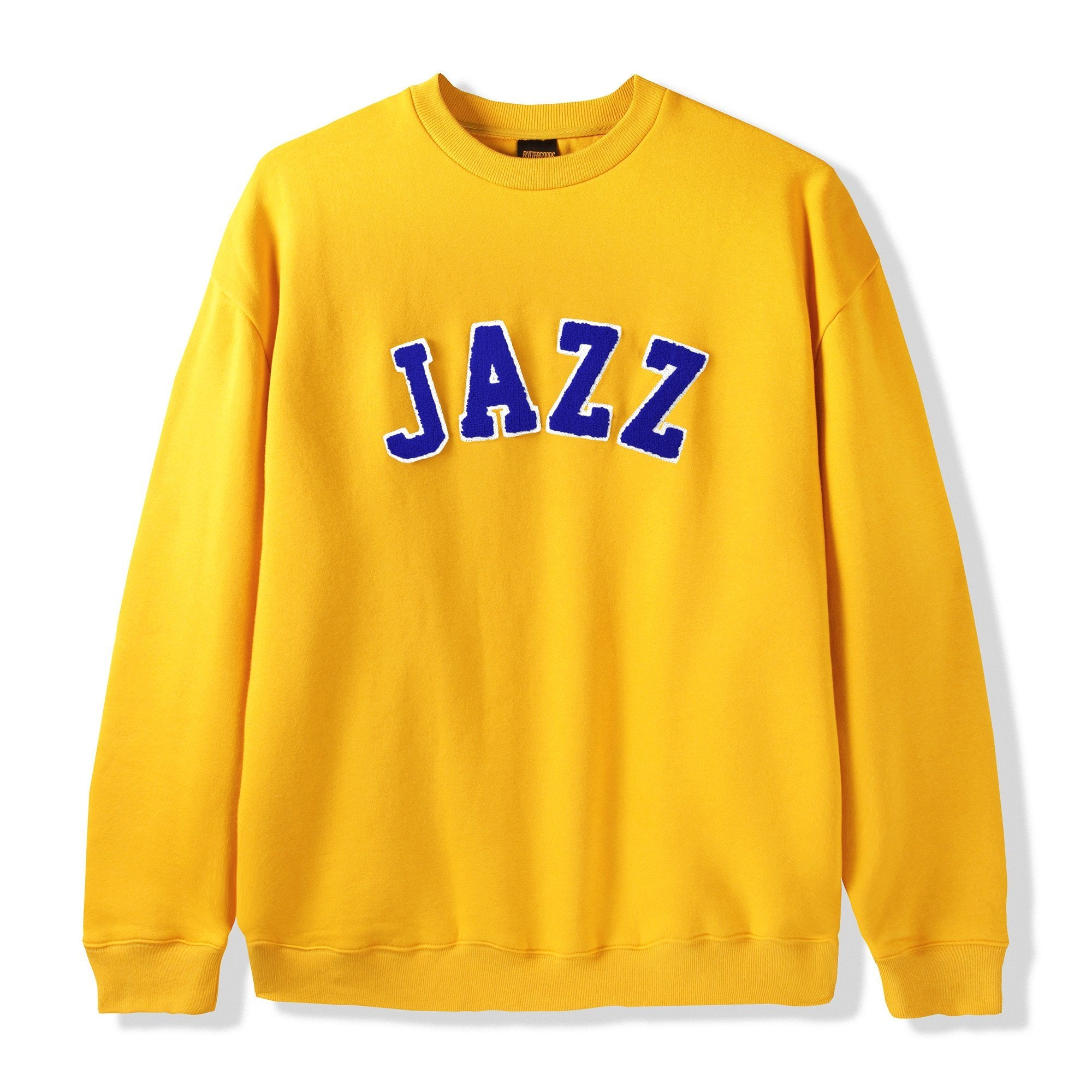 Butter Goods Jazz Applique Crewneck Product Photo #1