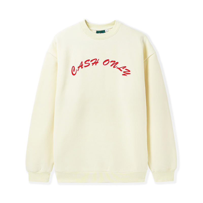 Cash Only Chenille Logo Crewneck Product Photo