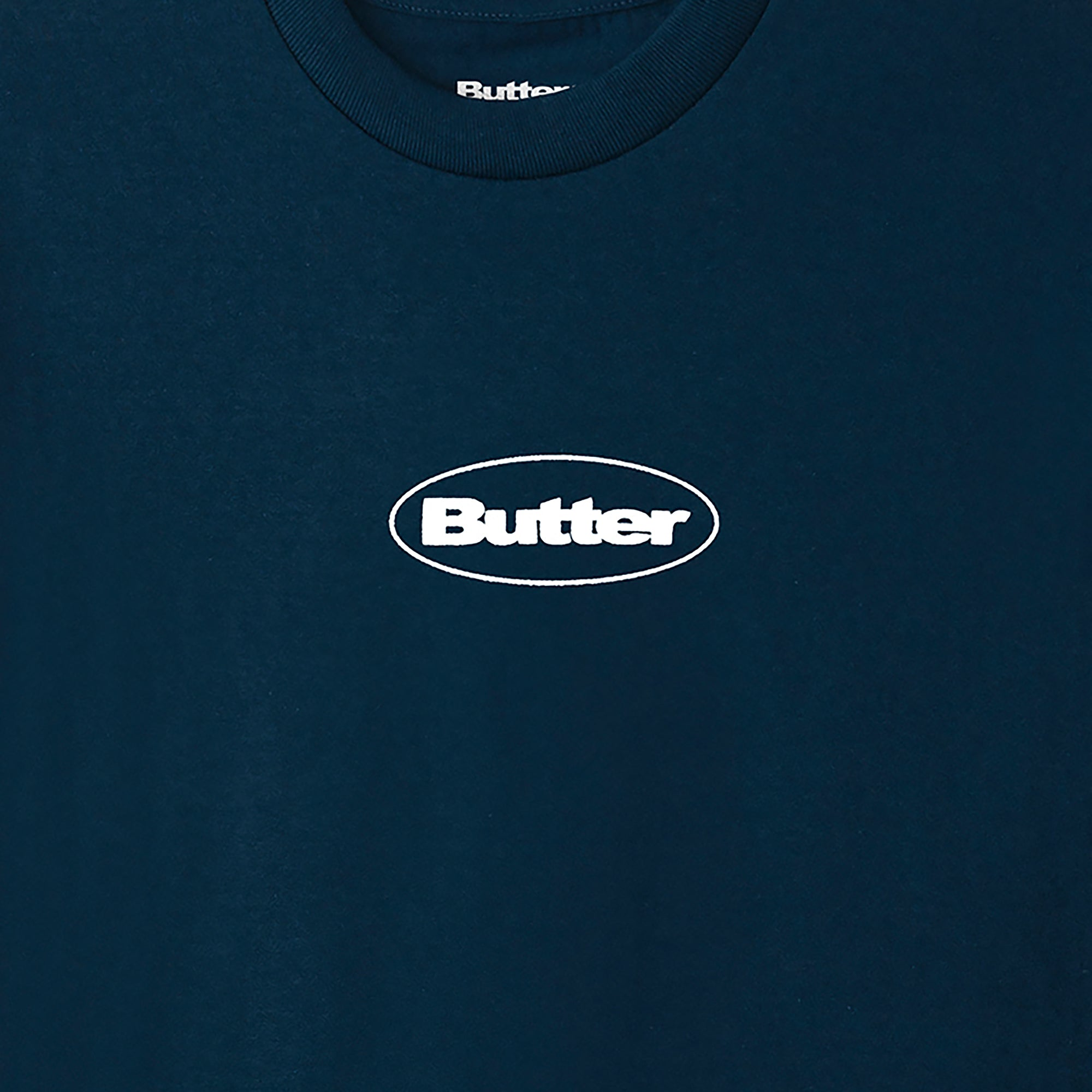 Butter Goods Puff Badge Logo Tee Product Photo #2