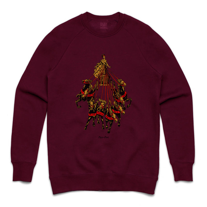 Passport State Horses Crewneck Product Photo