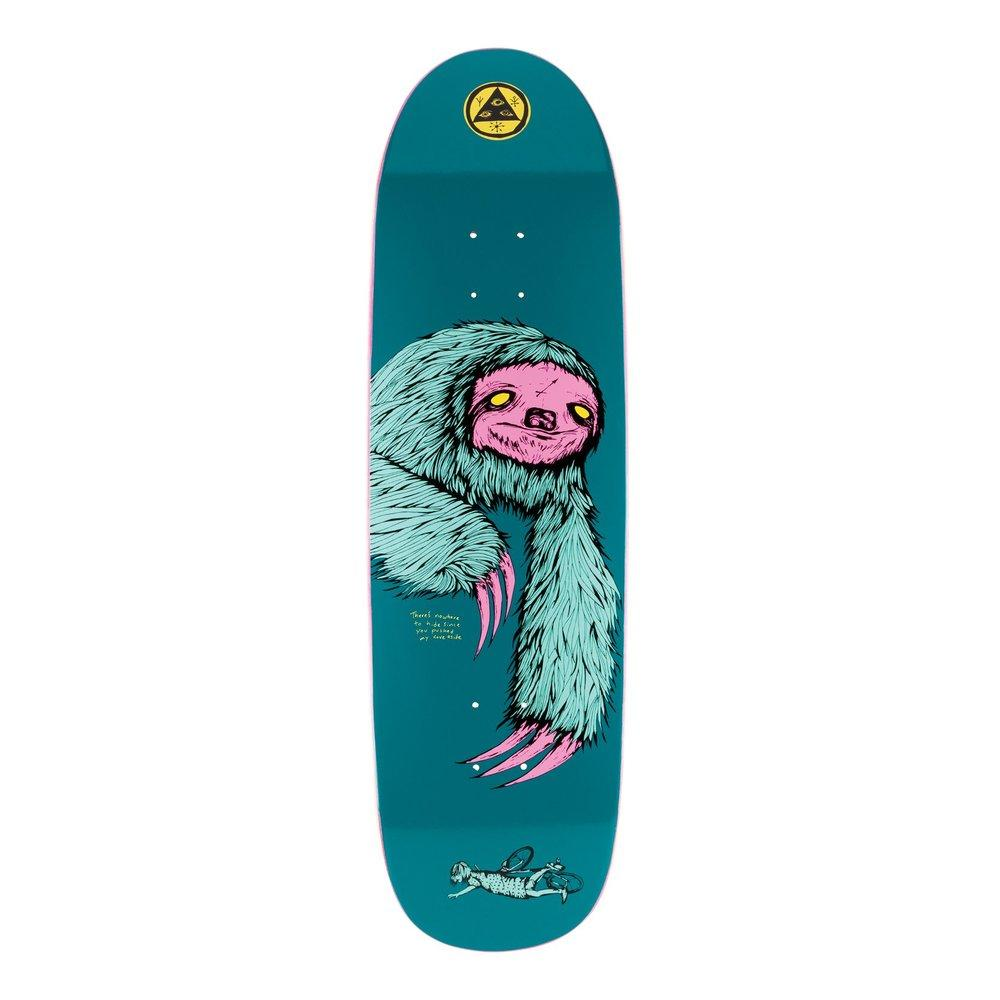 Welcome Sloth Deck Deep Teal Product Photo #1