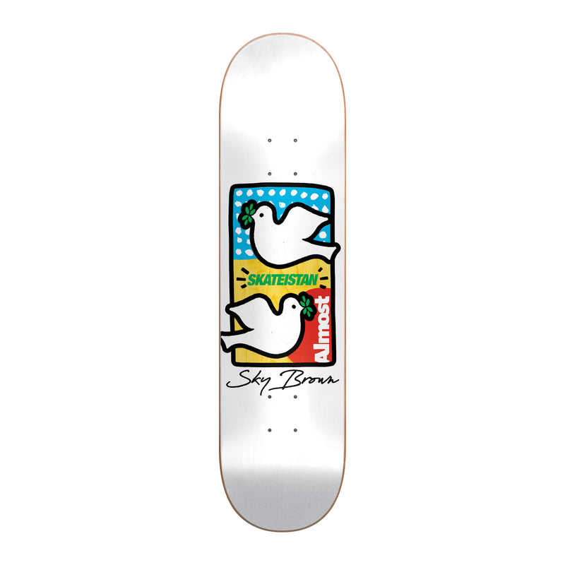 Almost Skateistan Double Doves Deck Product Photo