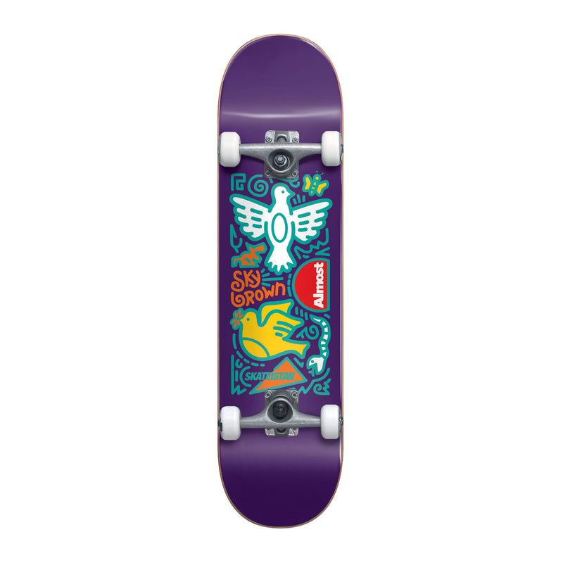 Almost Skateistan Sky Doodle Complete Product Photo