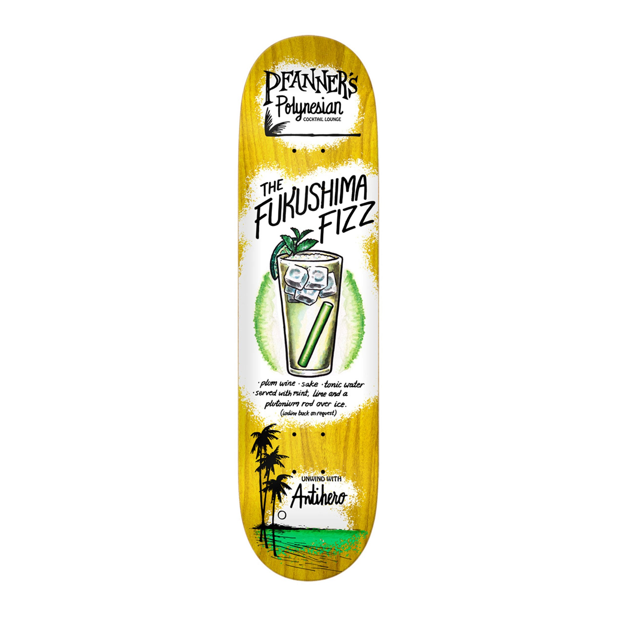 Anti-Hero Drink Specials Pfanner Deck Product Photo #1