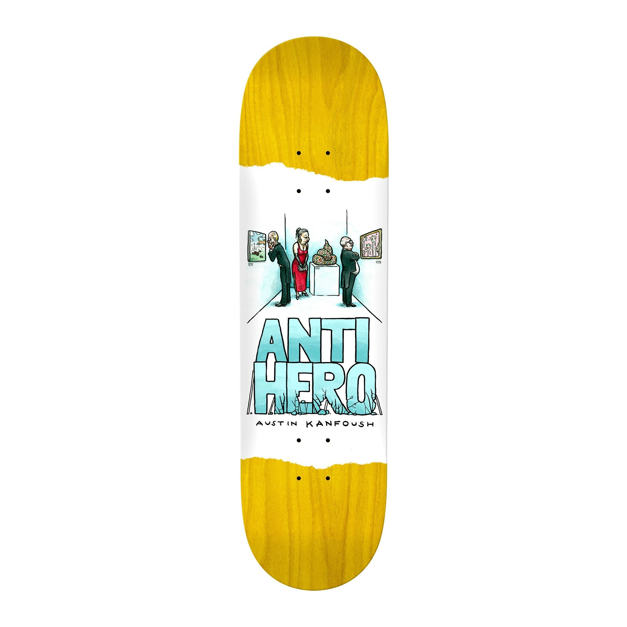 Anti-Hero Expressions Kanfoush Deck Product Photo #1