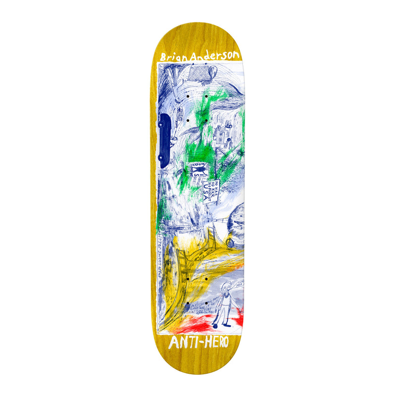Anti-Hero SF Then And Now Anderson Deck Product Photo