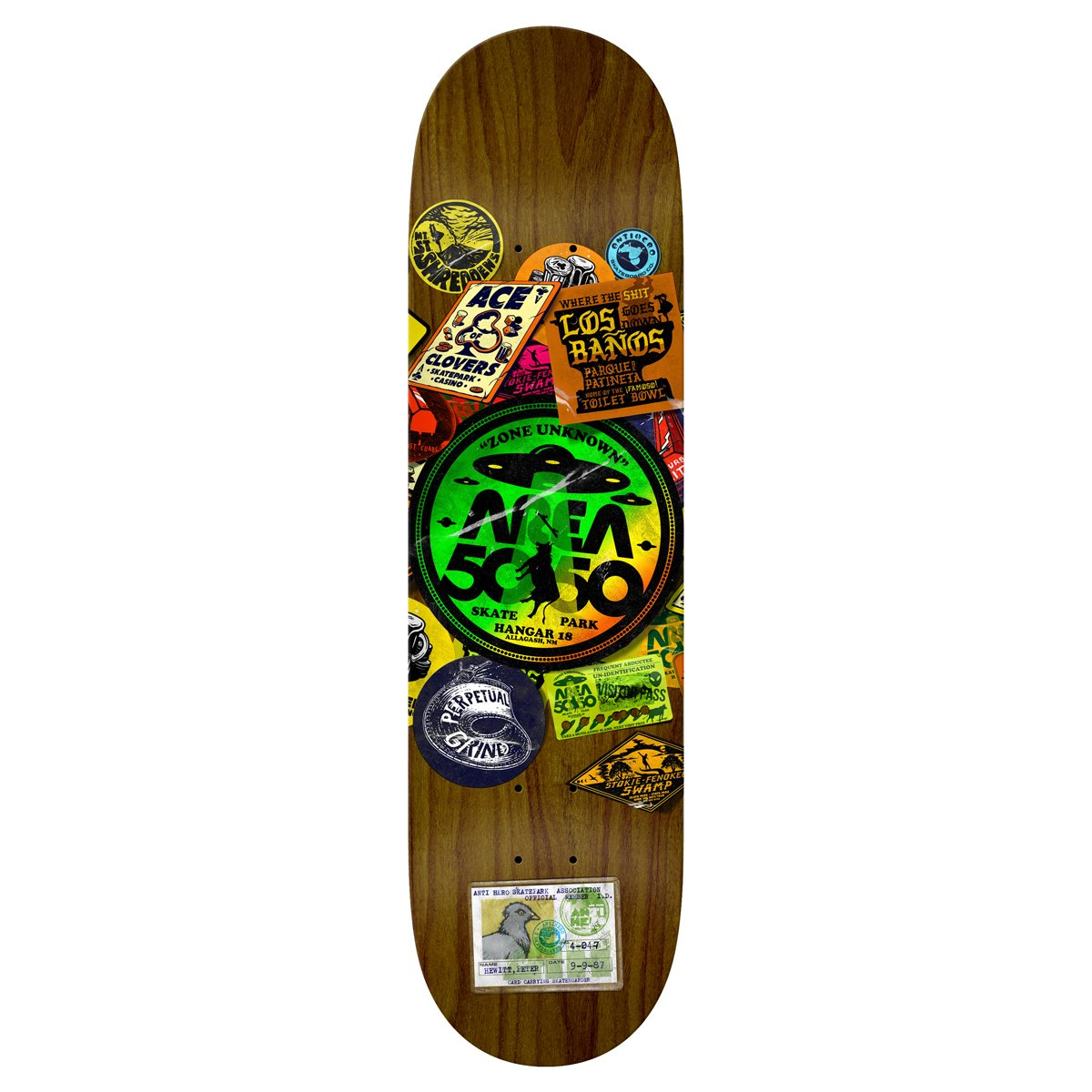Anti-Hero Parkboard Deck Product Photo #1