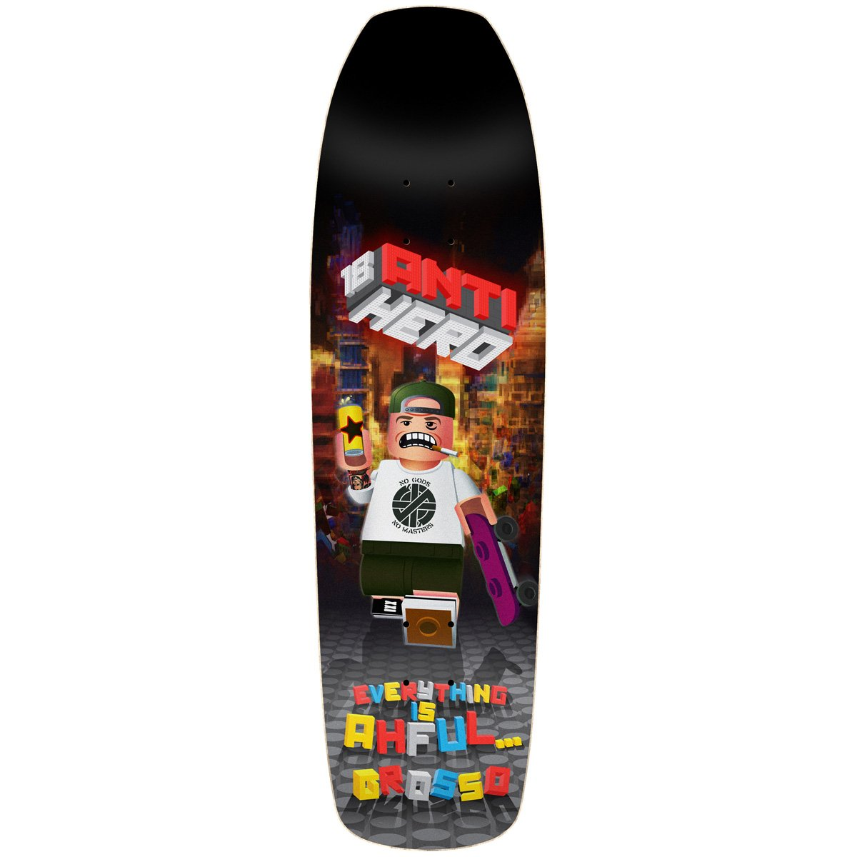 ANTIHERO EVERYTHING AHFUL GROSSO DECK - 9.2