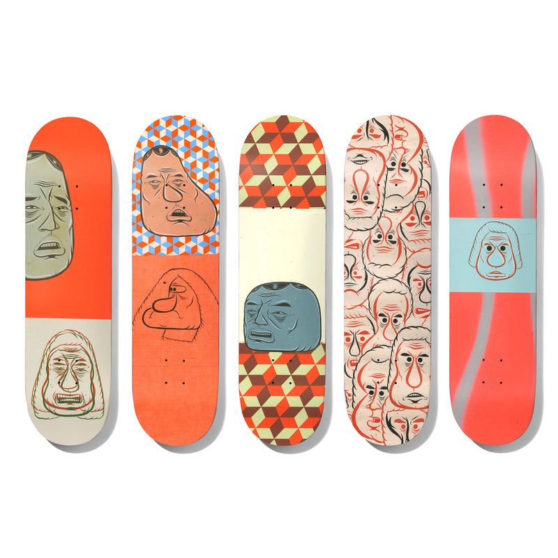 Baker Barry McGee 5 Deck Set Product Photo