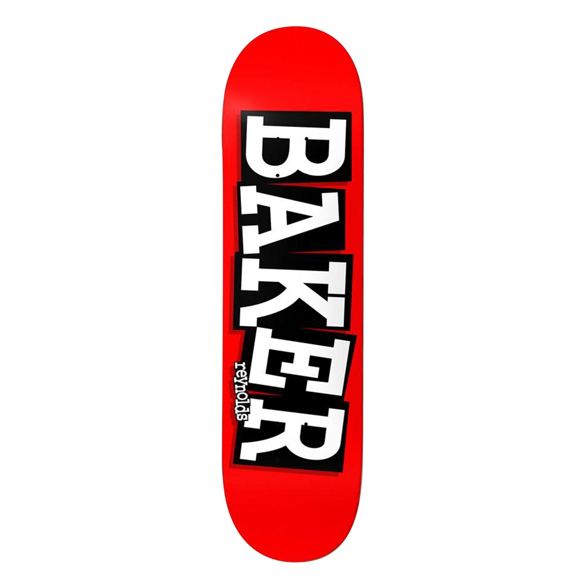 Baker Brand Name Ribbon Deck
