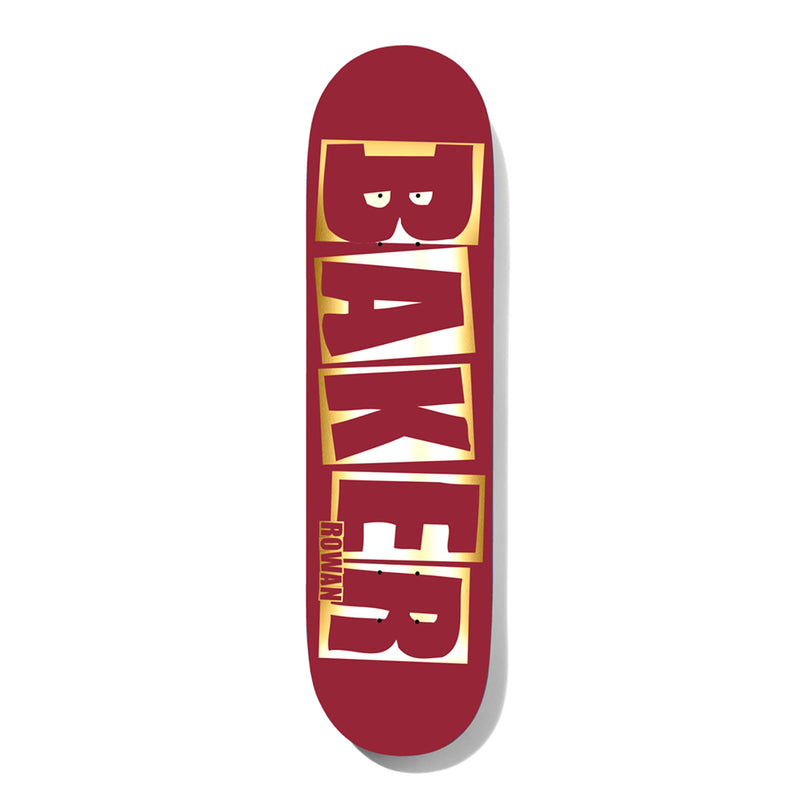 Baker Rowan Brand Name Foil Deck Product Photo