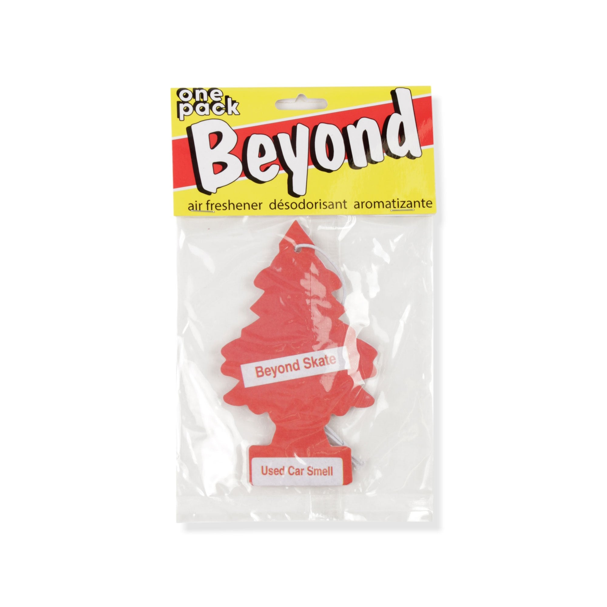 Beyond Used Car Air Freshener Product Photo #1