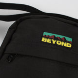 BEYOND MT PATCHEMANJARO BAG - BLACK