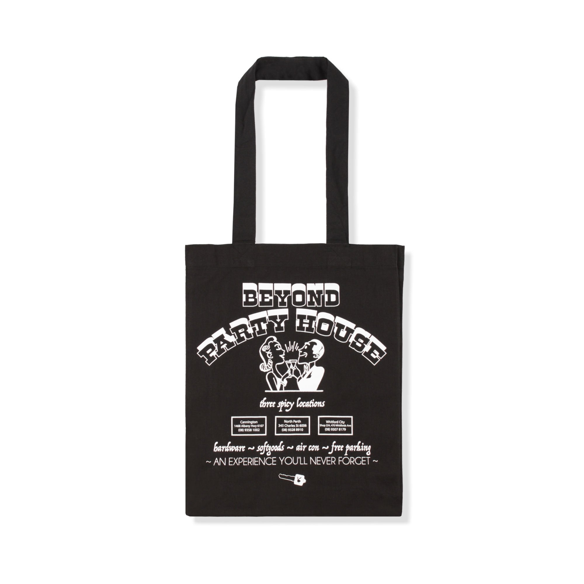 Beyond Party House Tote Bag Product Photo #1