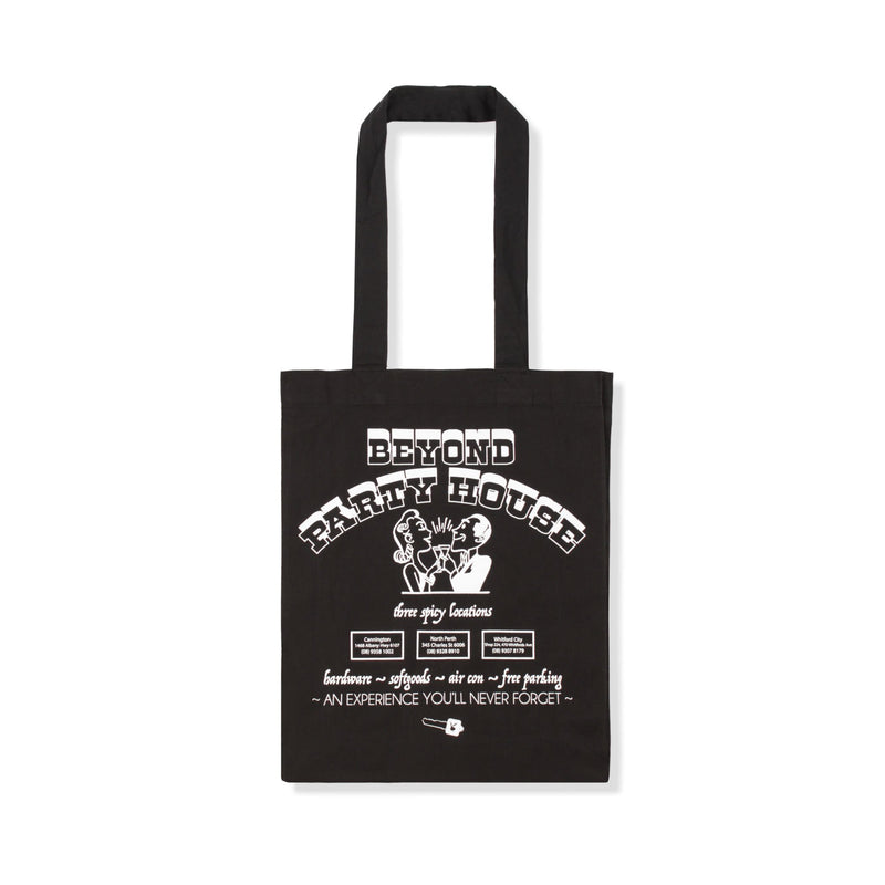Beyond Party House Tote Bag Product Photo