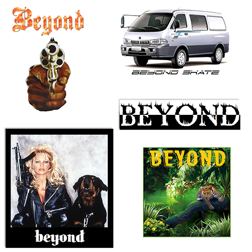 Beyond Sticker Pack Product Photo