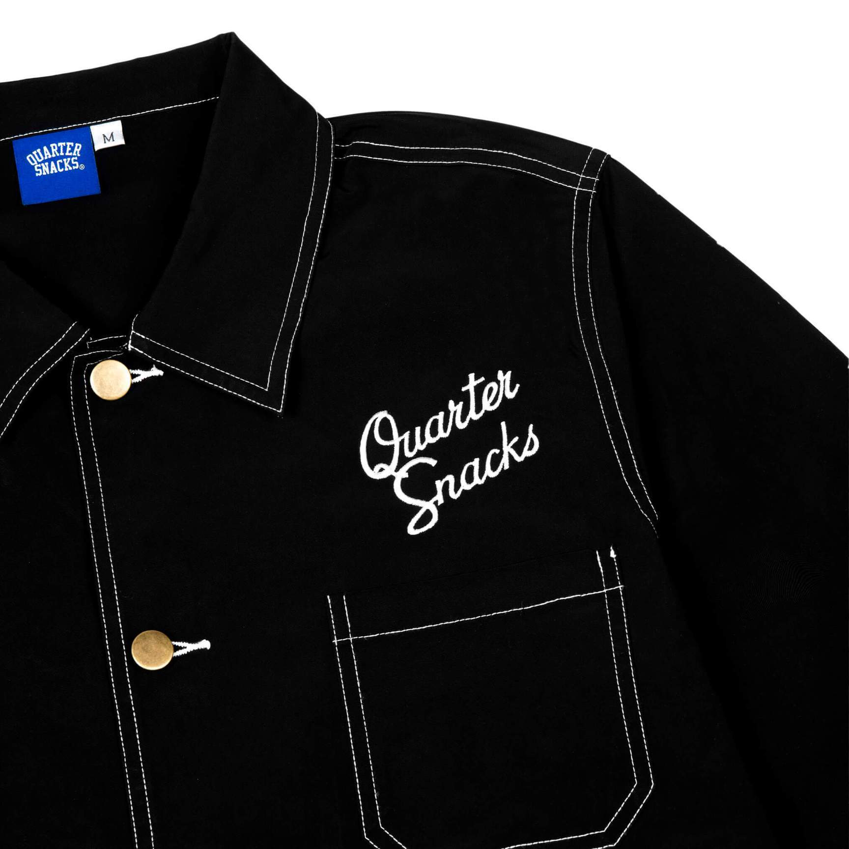 Quartersnacks Nylon Chore Jacket Product Photo #2