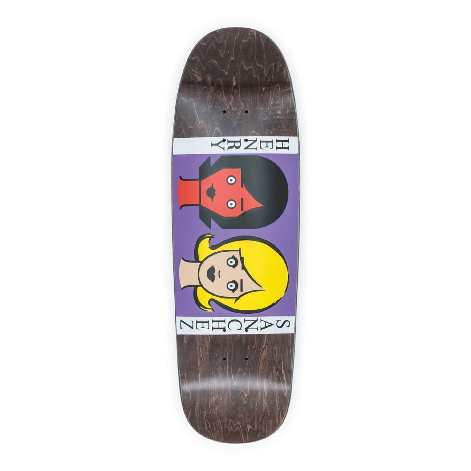 Blind Sanchez Two Girls Hand Screened Deck Product Photo #1