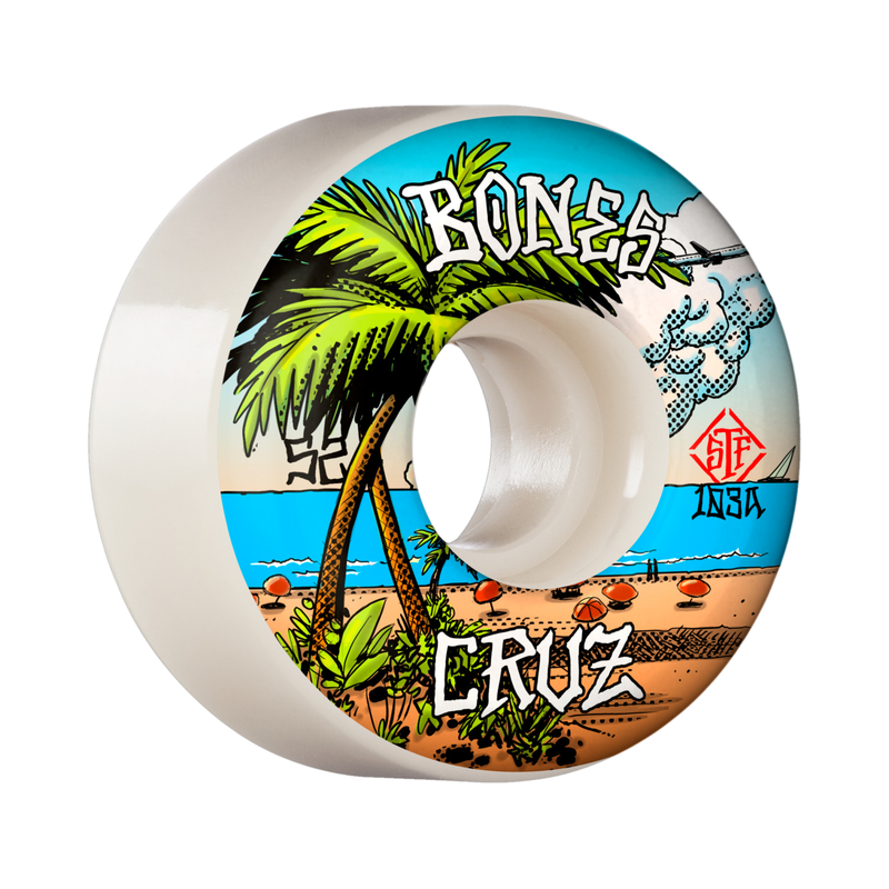 Bones Cruz Buena Vida STF Wheels Product Photo
