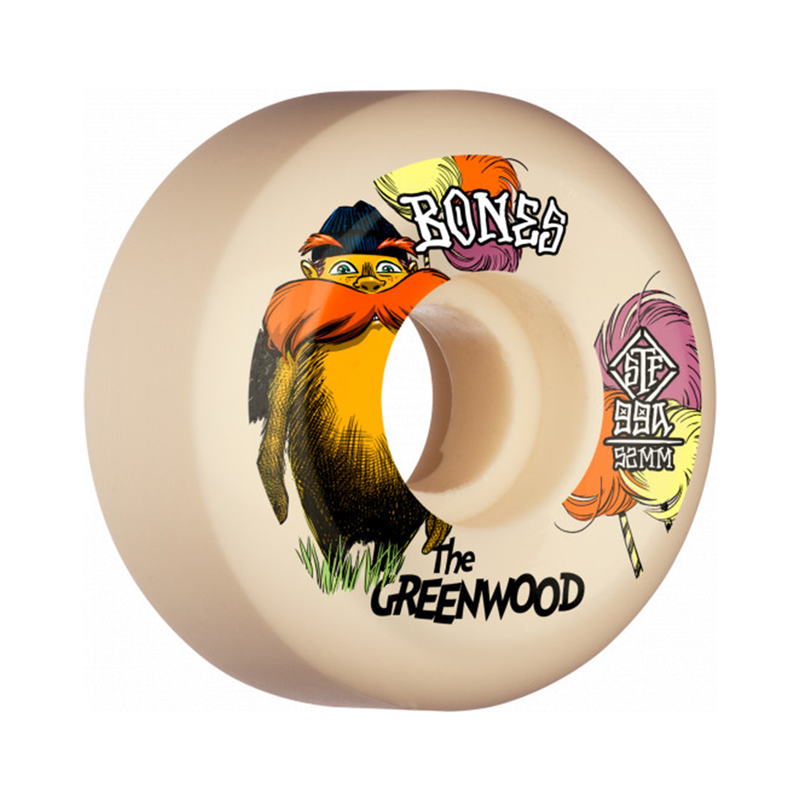 Bones STF The Greenwood Wheels Product Photo