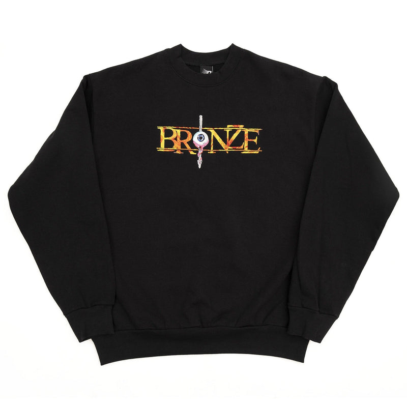 Bronze 56k Always Hard Embroidered Crewneck Product Photo