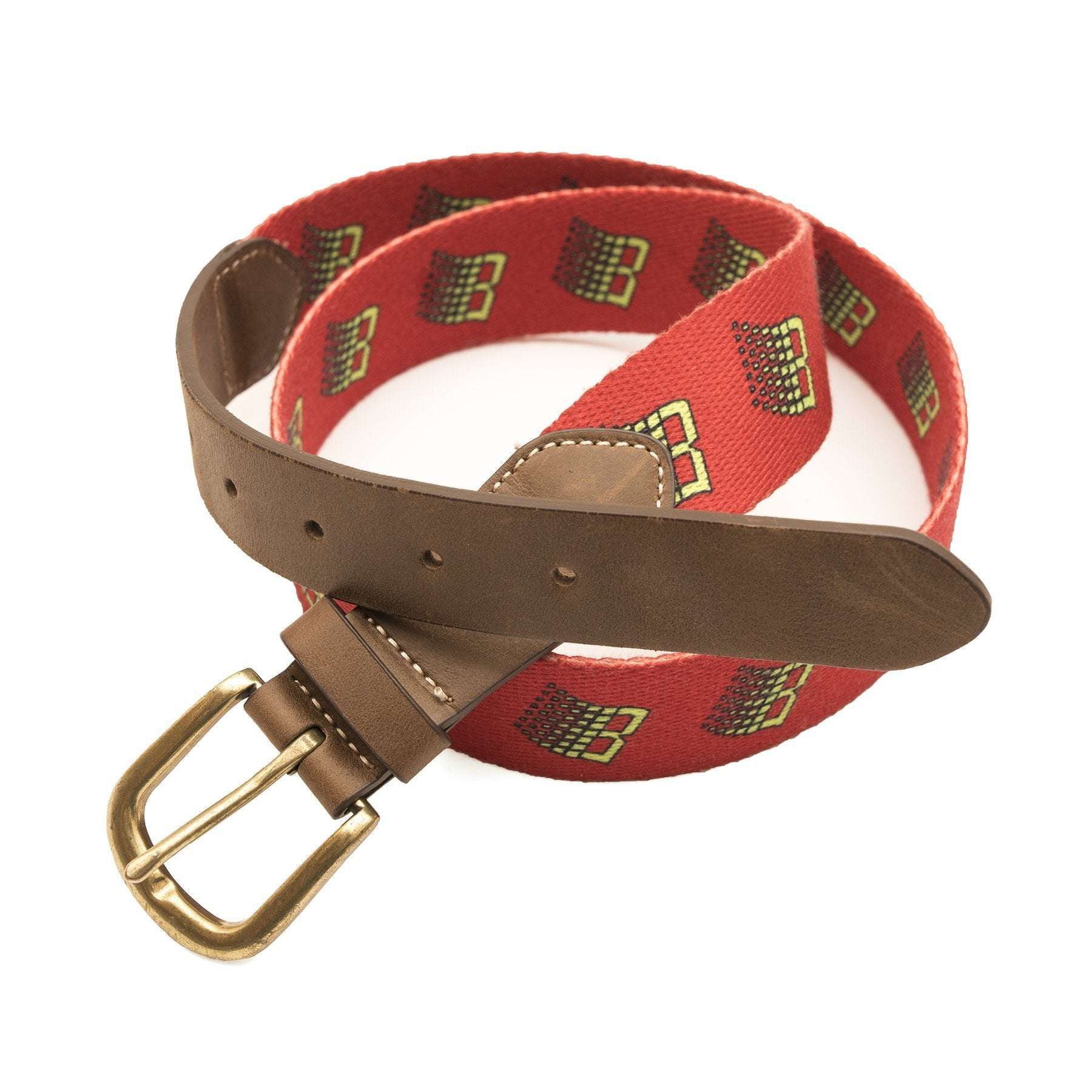 BRONZE B LOGO BELT