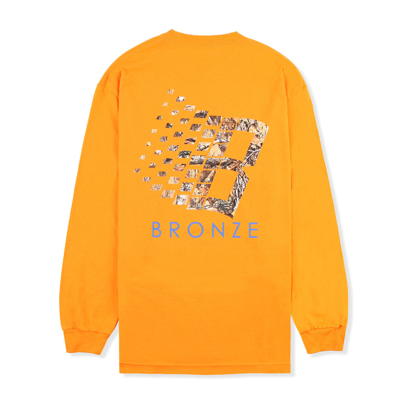 Bronze 56k B Logo Tree L/S Tee Product Photo