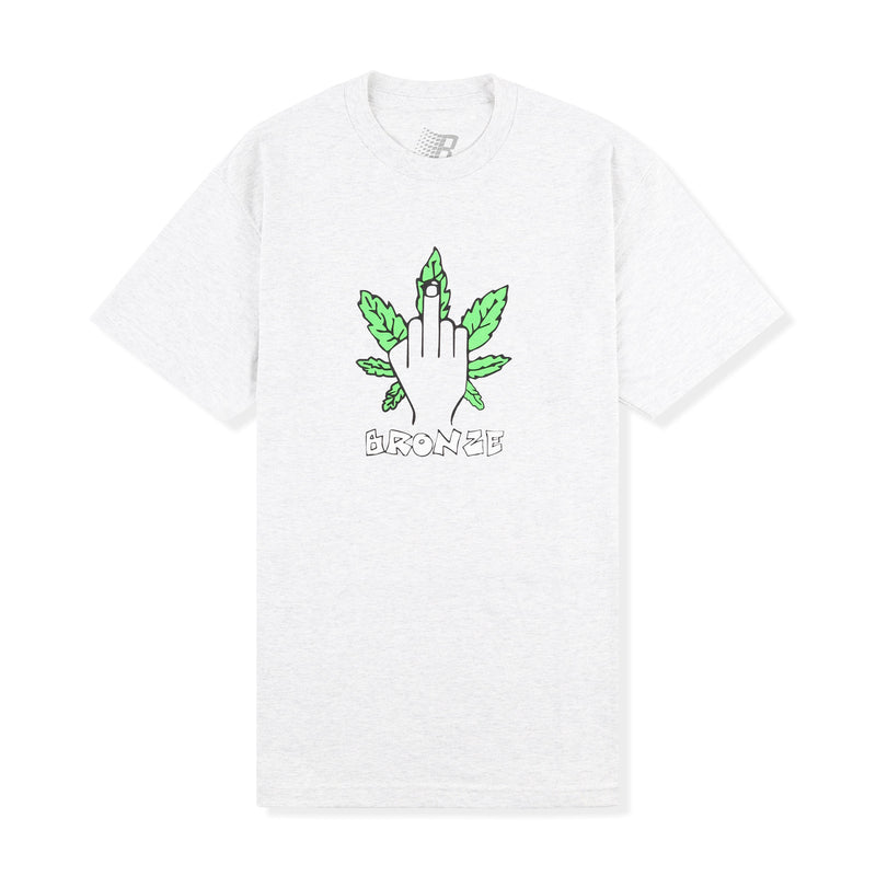 Bronze 56k Weed Finger Tee Product Photo