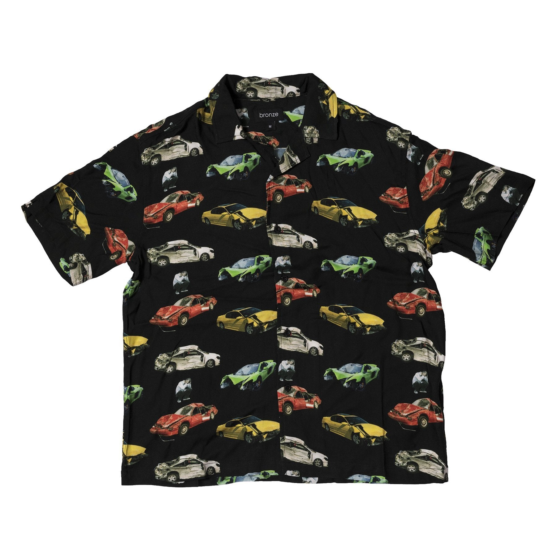 Bronze 56k Bronze 56K Wrecked Cars Shirt Product Photo #1