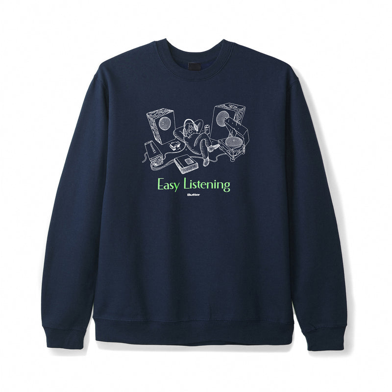 Butter Goods Easy Listening Crewneck Product Photo