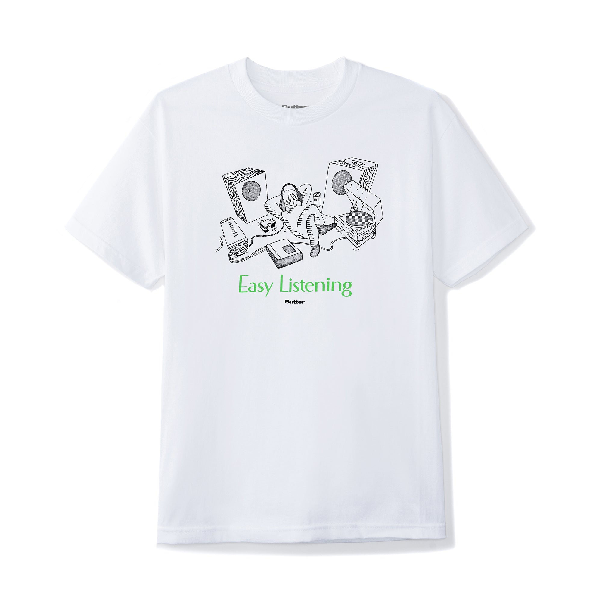 Butter Goods Easy Listening Tee Product Photo #1
