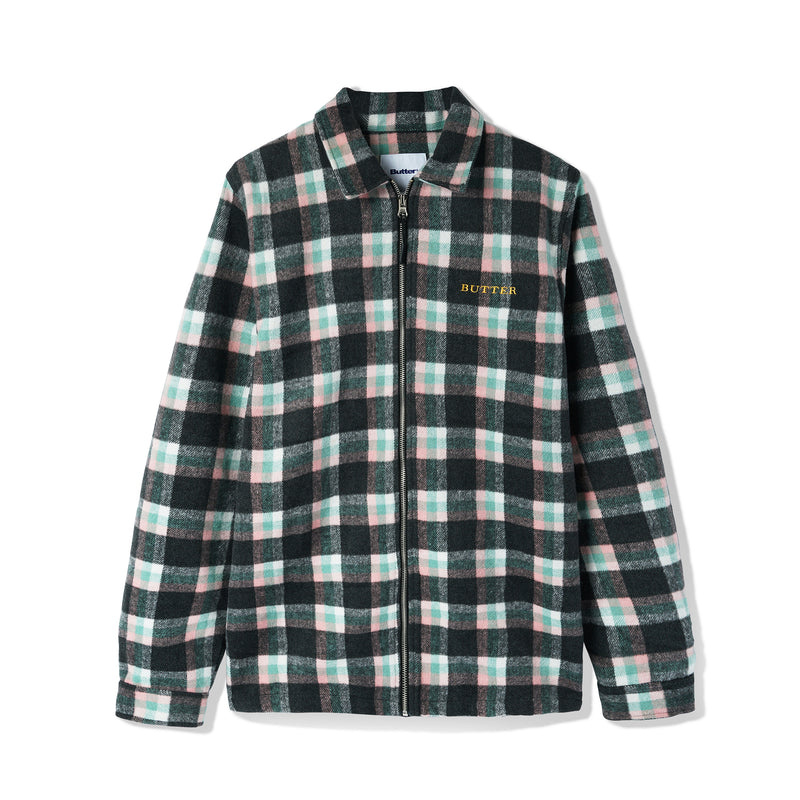 Butter Goods Flannel Plaid Overshirt Product Photo