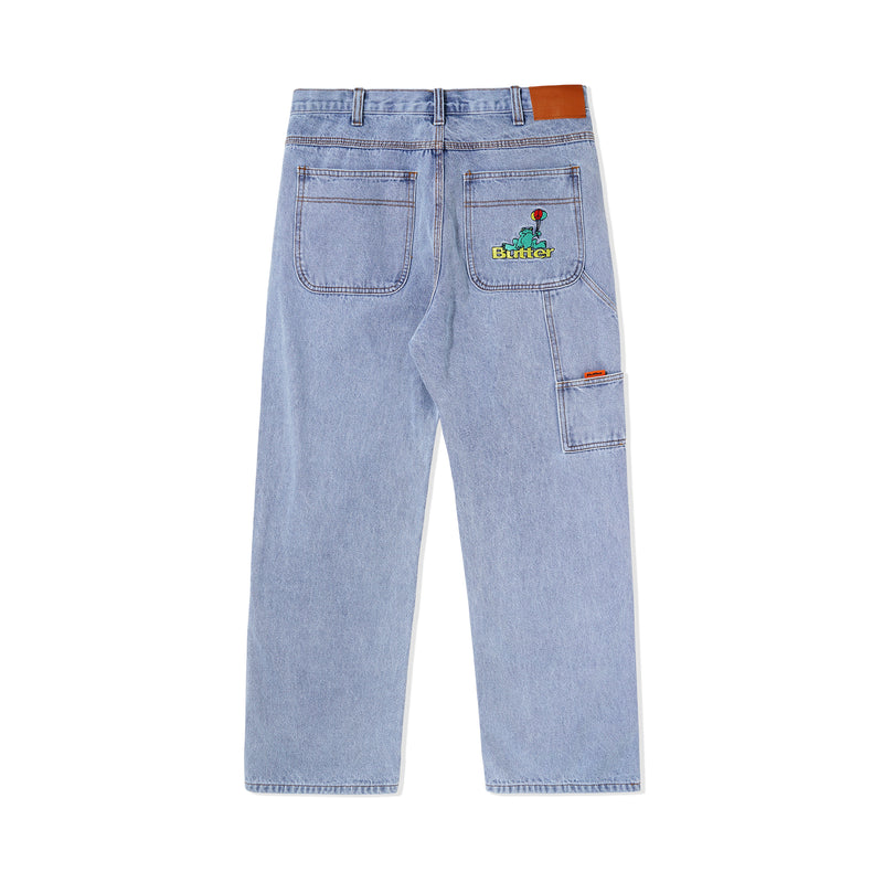 Butter Goods Frog Denim Pants Product Photo