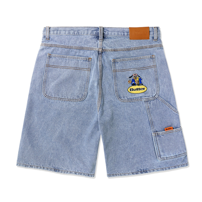 Butter Goods Homeboy Denim Shorts Product Photo